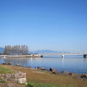 琵琶湖の浮城