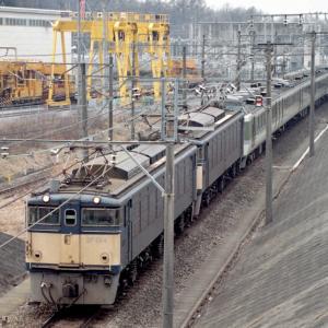 Kさん撮影:避暑地の思い出 峠のシェルパEF63と電車達 信越本線 横川-軽井沢 1989-97