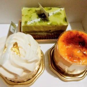 サント・ノーレの絶品ケーキ(ピスターシュ・ショコラ、シブスト、マイア)