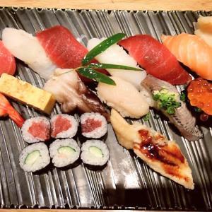 成田空港で食べるお寿司「築地寿司岩」の特選満腹握り