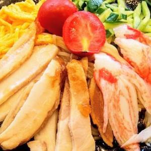 餃子の王将で暑い夏にぴったりの「冷し中華」と「レバニラ炒め」