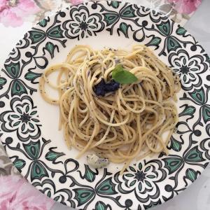 かずのこスパゲティ〜と。