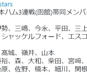 函館遠征メンバー