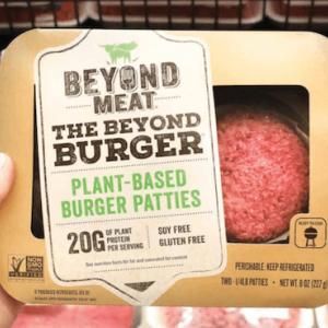 100%植物ベースのお肉を手がけるBeyond Meatがナスダックに上場!初日から株価は高騰へ