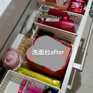 【オーガナイズ事例&感想】どこに何を置いたらいい?洗面台とキッチン背面収納