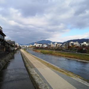 初冬の鴨川