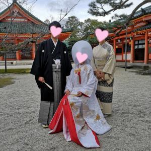 結婚式 ♥ 平安神宮