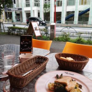 都心のオープンカフェ事情