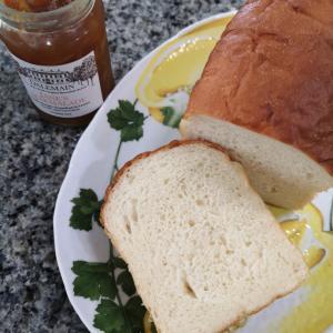 米粉湯種と和三盆の食パン