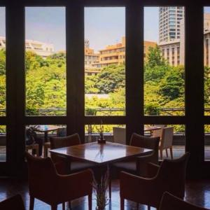 暑さ寒さも彼岸まで  八芳園 スラッシュカフェ