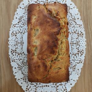 バナナケーキ  四つ葉パンケーキミックス