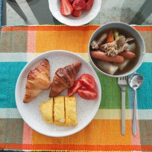 野菜スープとバターカッターケース