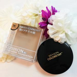 新質感、透けツヤマット肌 の『レブロン カラーステイ クッション ロングウェア ファンデーション』