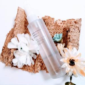 「シカ(ツボクサエキス)」配合のミスト状化粧水「スキンコットン 濃厚リペアプロテクトローション」