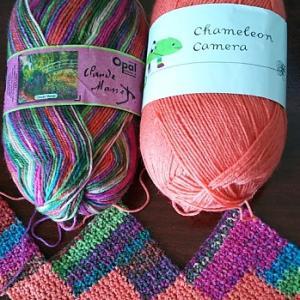 今週は、かぎ針編み三昧♪