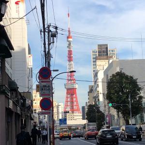 東京タワーだぁ…
