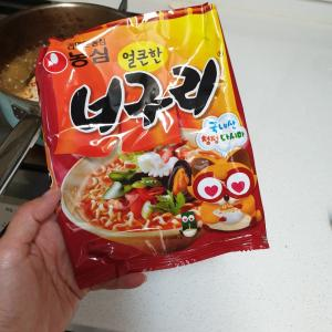 韓国のインスタントラーメンでは今これが好き「ノグリラーメン」