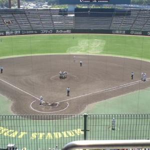岡山県秋季高校野球 地区予選 9/20(日)の試合結果