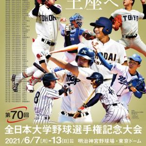 第70回全日本大学野球選手権記念大会 6日目の試合結果