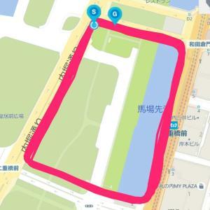 10月21日 30㎞走(ジョグ) 今シーズン7トライ目 4完走3失敗