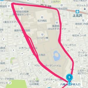 5月13日 E➡高速ジョグ65分、常時これくらいは走れる状態でありたい
