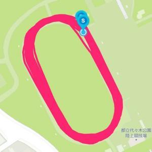 10月27日 8000m+1000m(M×K練)、キツ過ぎるけどやりがい大