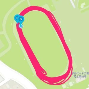 11月25日 インターバル800m×8本(練習会)、土曜日5000m走ります