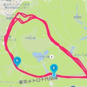 6月8日 インターバル1.6㎞×4本(M×K練)、刺激入らず