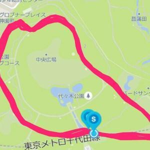 6月13日 15.28㎞BU走(M×K朝練)、昨年の自分と比較して