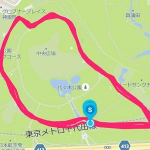 6月17日 11.46㎞BU走(M×K朝練)、生活疲労との闘い
