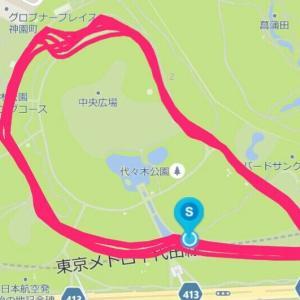 9月16日 11.46㎞BU走(M×K朝練)、雨降らず爽快
