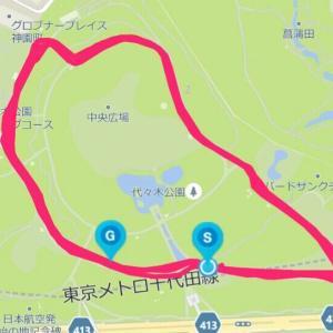 9月21日 ペース走7.64㎞+1㎞+0.5㎞(M×K練)、整ってきたか