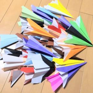 のんちゃんの紙飛行機