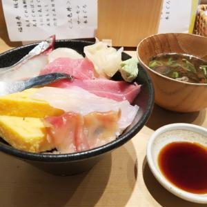 札幌市中央区『寿司・中国料理 福禄寿』板長おすすめの気まぐれ海鮮丼にザンギを付けてみた!