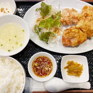 『中国料理 川菜 西六厨房』あっさりザンギを油淋鶏ソースで食べる!ランチ限定のザンギ定食