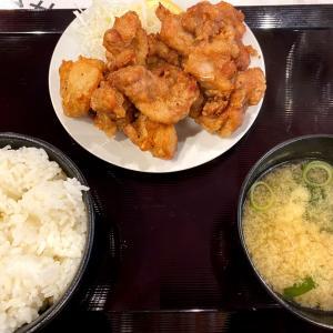 『新橋立呑処 へそ 札幌大通店』食べ放題でなくなってもコスパが良いワンコインのザンギ定食!
