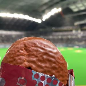 今日のおやつ ロッテ チョコパイ 和栗は…んまいっ!