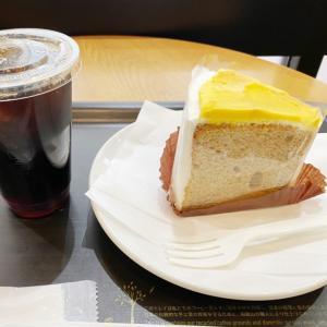 スタバ ポリーちゃんと会う前に食べたスイートポテトシフォンケーキが美味すぎた!