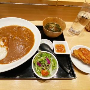 『寿司・中国料理 福禄寿』中華やさんの牛すじカレーセットは限定ランチ!食べて新年挨拶したよ!