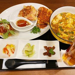 『中国料理布袋 赤れんがテラス店』布袋グループのザンギ3種食べ比べセットとマーボー麺を食べてみた