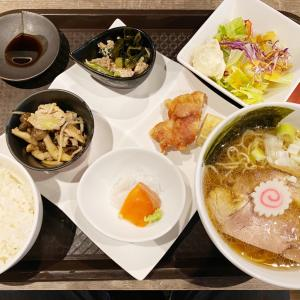 『HARERUYA』煮干し中華そばで温まる本日の定食!ザンギも付いてるよ!