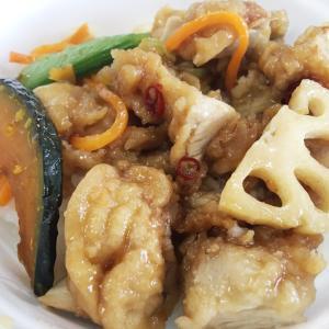 ファミリーマート だし醤油が決め手!5種野菜と和風唐揚丼を食べてみた!