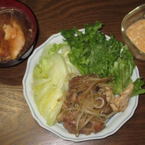 普段の食事(130)~3種混合?