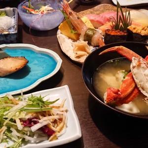 特上握り寿司、旬のお刺身盛り合わせなど