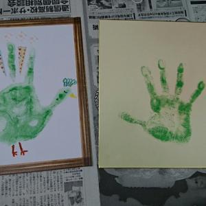レクボランティア  手形アート