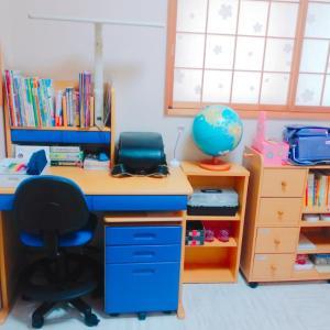 息子の勉強スペース