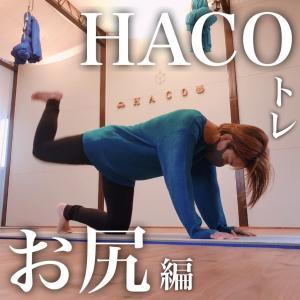 【HACOトレ】お尻編