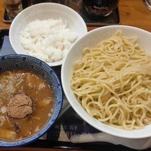 らあめん花月嵐 風雲児 鶏白湯つけ麺|鶏と魚介のWスープ!麺300グラムはボリューム満点