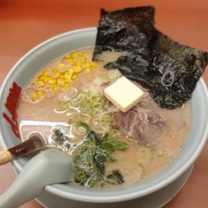 ラーメン山岡家「醤油バターコーンラーメン」バターのコクとコーンの甘味