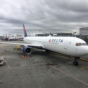 米系航空会社のサービスが改善!?デルタ航空を利用したらエコノミークラスでも想像以上に良かった